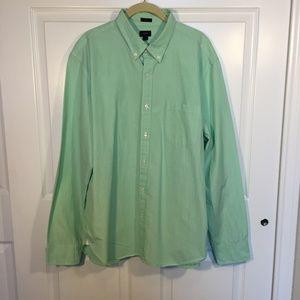 J. Crew Mens Size XL Slim, Seafoam green - A3